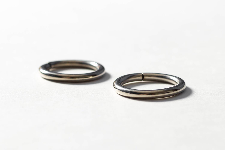 Кольцо 25 мм - хром