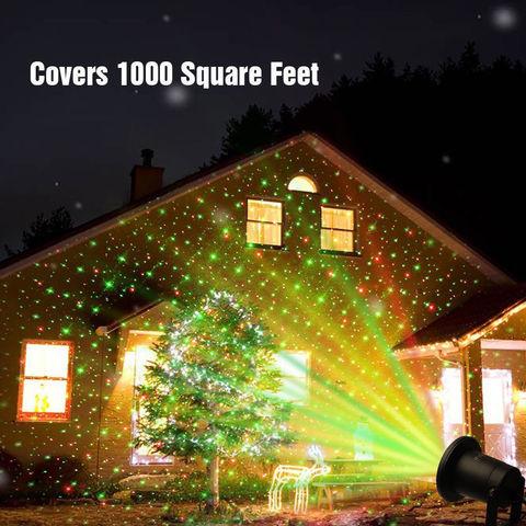LED проектор уличный