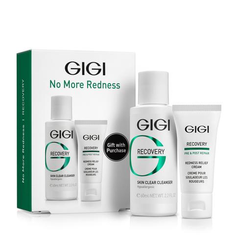 Gigi Recovery No More redness, подарочный набор чувств кожа и купероз, набор