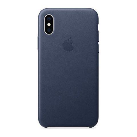 Чехол для iPhone XS Max - Кожаный