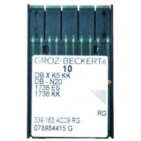 Groz Beckert DB*К5 KK универсальные иглы для промышленных вышивальных машин №80   Soliy.com.ua
