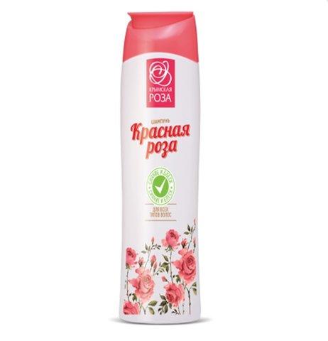 Шампунь «Красная Роза» сияние и блеск для всех типов волос™Крым Роза