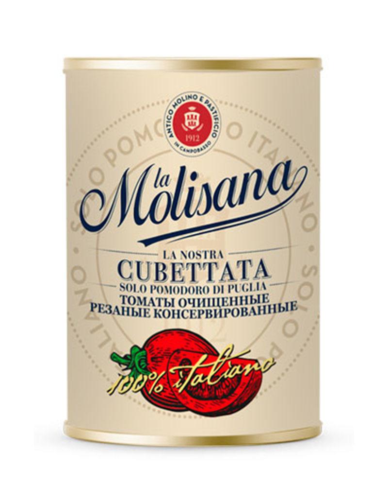 Томаты La Molisana очищенные резаные консервированные 400 гр.