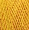 Пряжа Alize COTTON GOLD 14 (Темно желтый)