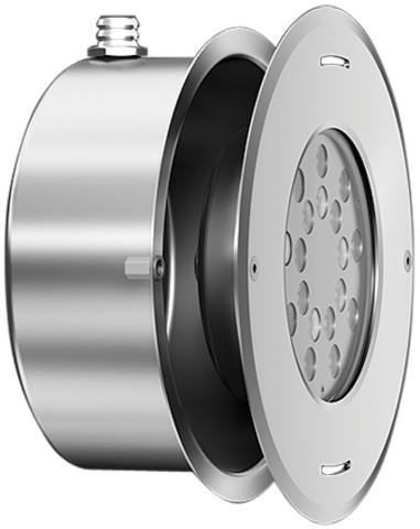 Светильник для фонтана PL800-RGB/40W/12-24V