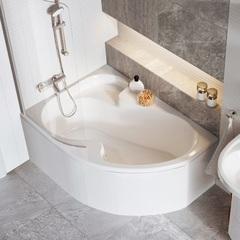 Ванна асимметричная 140х105 см Ravak Rosa I CI01000000 фото