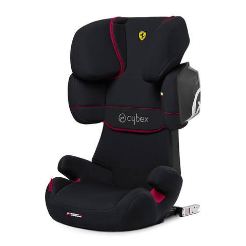Автокресло Cybex Solution X2-Fix FE Ferrari Victory Black