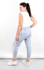 Яніна. Спортивні штани великих розмірів. Сірий.