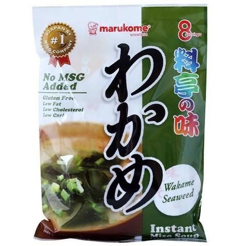 Мисо-суп Марукомэ 8 порций Marukome с морской капустой Вакамэ органик 190г