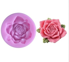 Силиконовый молд  Роза № 1