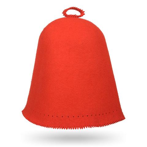 Колпак красный Scandinavian цельноваляный