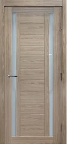 Дверь №15Х стекло матовое (капучино мелинга, остекленная экошпон), фабрика Profil Doors
