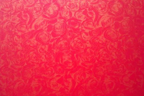 Дизайнерская бумага «Розы» 300 гр, красный