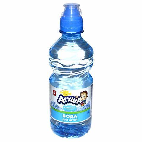 Вода питьевая АГУША Детская б/газа 0,33 л РОССИЯ