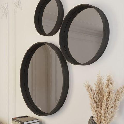 Зеркало круглое Иконс 70
