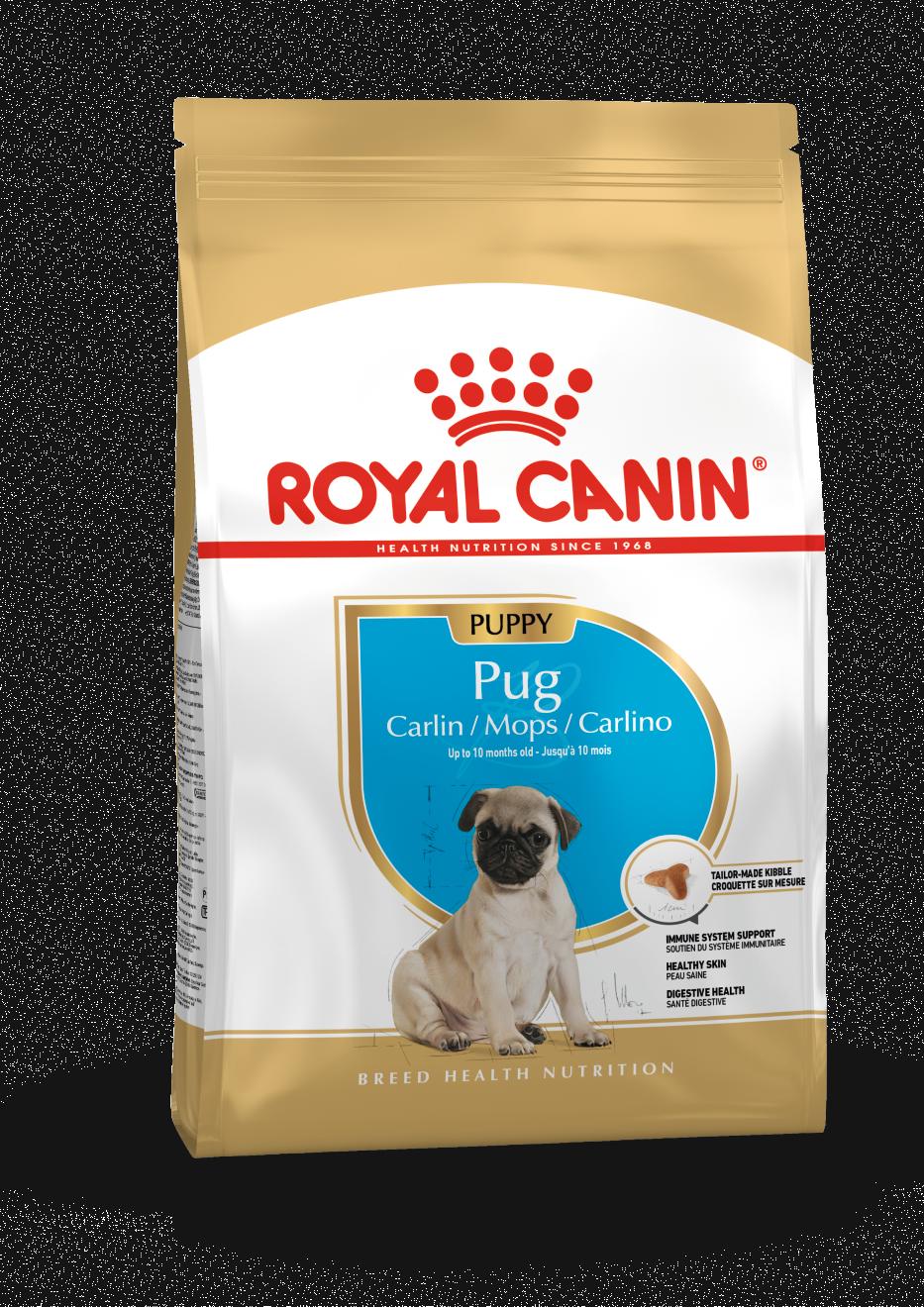 Royal Canin Корм для щенков породы мопс, Royal Canin Pug Puppy 3182550813082_1.png
