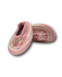 Тапочки трикотажные - Розовый. Одежда для кукол, пупсов и мягких игрушек.