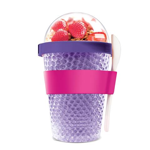 Контейнер Asobu Chill yo 2 go (0,38 литра), фиолетовый