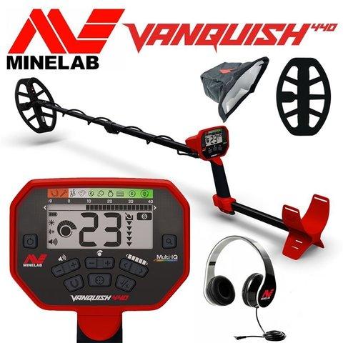 Металлоискатель Minelab Vanquish 440 (Пинпойнтер в подарок!)