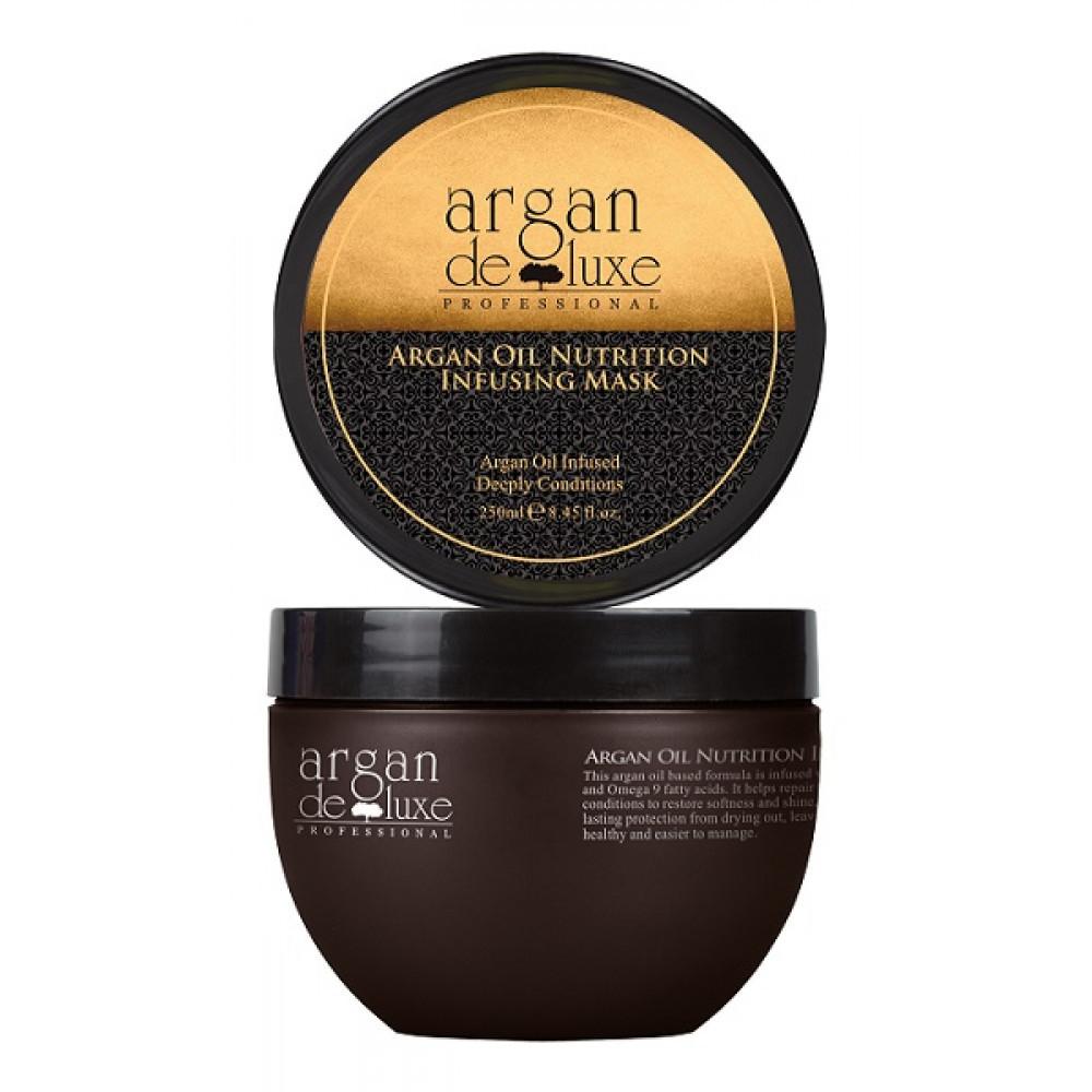 Питательная маска с аргановым маслом
