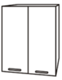 Чили ШВ 600 шкаф верхний