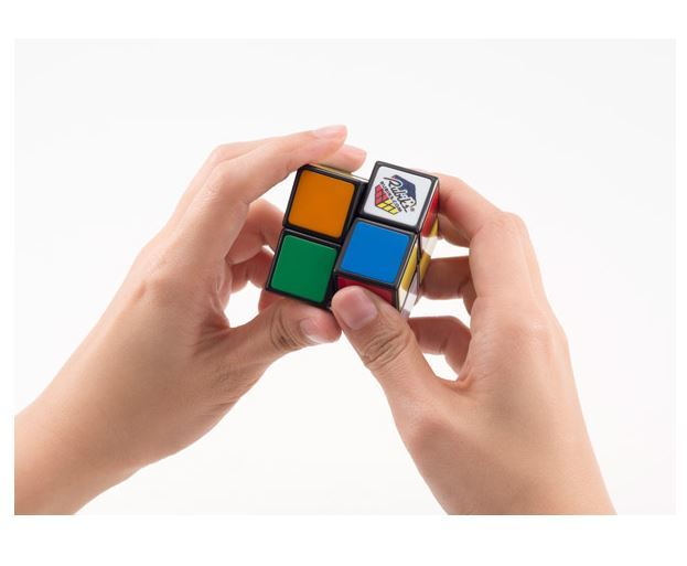 Кубик Рубика 2х2 (Rubik's) без наклеек