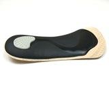 Ортопедические полустельки при болях и усталости в ногах, с покрытием из натуральной кожи