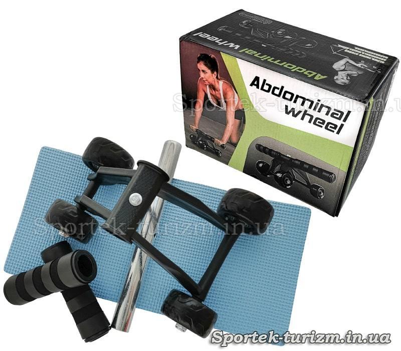 4-х колісний ролик для преса WT-E59 - упаковка