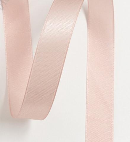 Лента атласная 12мм (23м), №68 цвет пепельно-розовый
