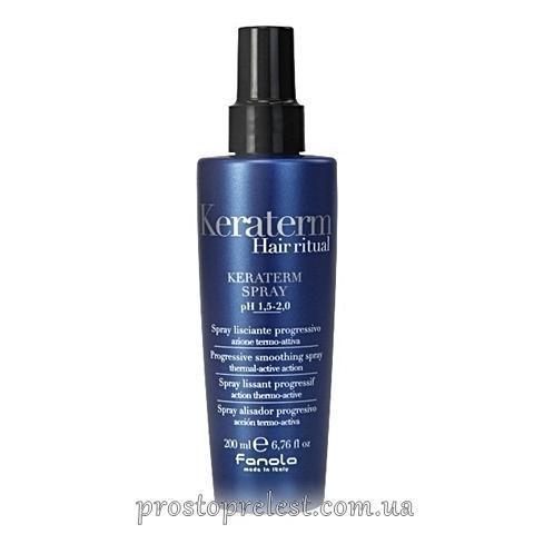 Fanola Keraterm Spray -Спрей для реконструкції пошкодженого волосся