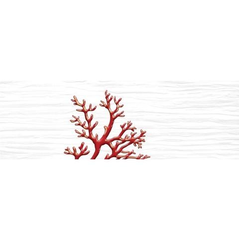 Декор Коралл белый 04-01-1-17-03-00-901-4 600х200х9