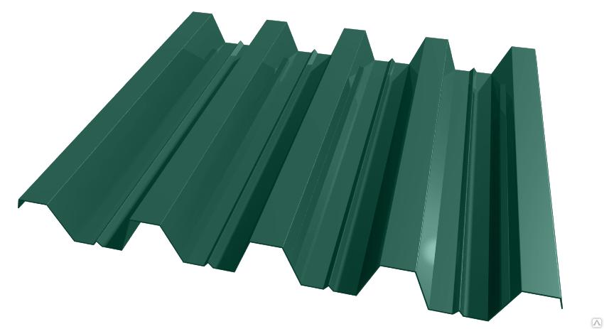 Профилированный лист Н60, полиэстер глянец