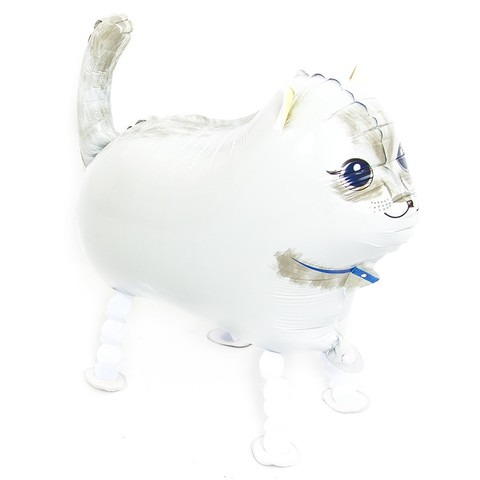 Ходячая фигура Кошка белая, 61 см