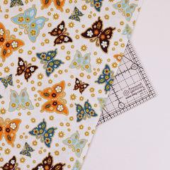 Ткань для пэчворка, хлопок 100% (арт. X0811)