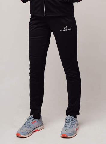 Разминочные брюки Nordski Base black W женские