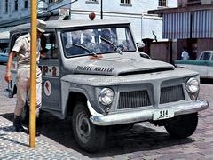Willys Rural radio Patrulha Brazil 1:43 DeAgostini World's Police Car #60