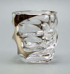 Набор из 6 стаканов для виски «Calipso», золото, фото 3