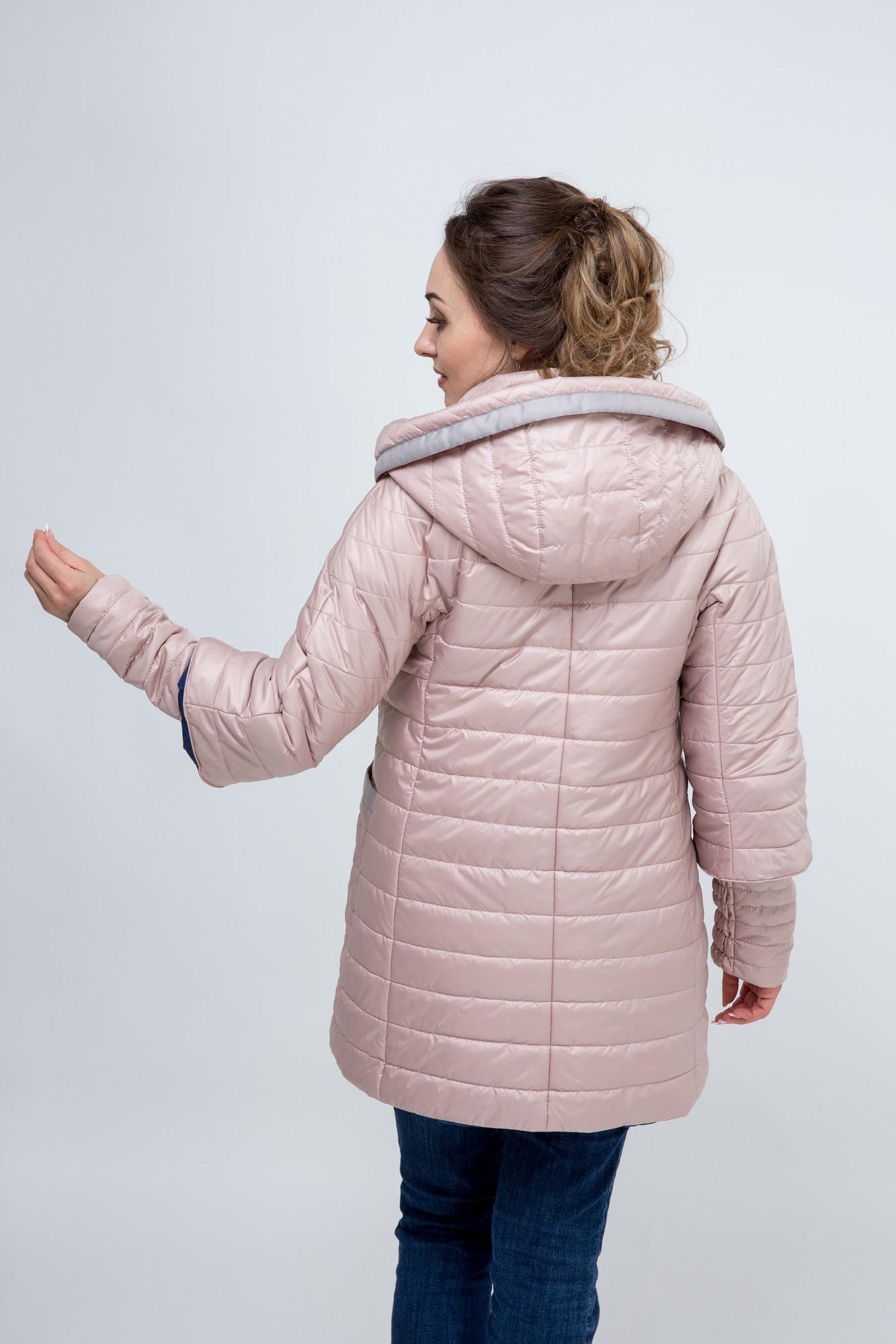 Куртка для беременных 09757 пепельная роза/синий