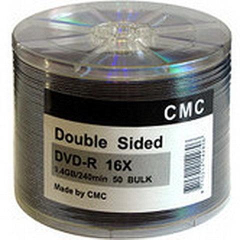 Диски CMC Magnetics DVD-/+R 9,4 GB 16x, Double sided, Bulk/50