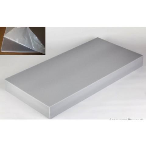 негорючая  акустическая панель ECHOTON FIREPROOF 100x50x10cm   серый с адгезивным слоем