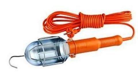 Удлин-ль Переноска под лампу Е27, с выкл, 5м