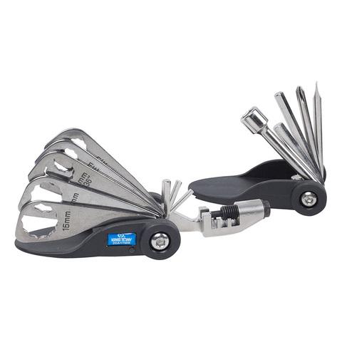 KING TONY (20A17MR) Набор инструментов для ремонта велосипедов, 17 предметов