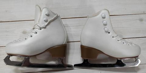 Коньки б/у Edea Brio, размер 185 (Белые) с лезвиями Balance