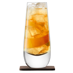Набор из 2 бокалов на подставке из ореха Whisky Islay, 325 мл, фото 2