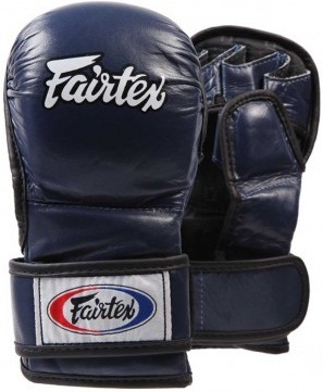 ММА перчатки Перчатки MMA Fairtex Sparring Gloves FGV15 Blue 1.jpg