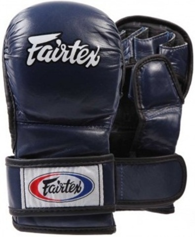 Перчатки MMA Fairtex Sparring Gloves FGV15 Blue