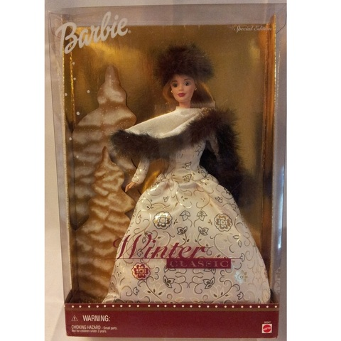 Барби Зимняя Классика 2001 Блондинка