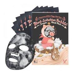 Elizavecca Маска для лица кислородная от точек - Witch piggy hell pore black solution bub, 28г