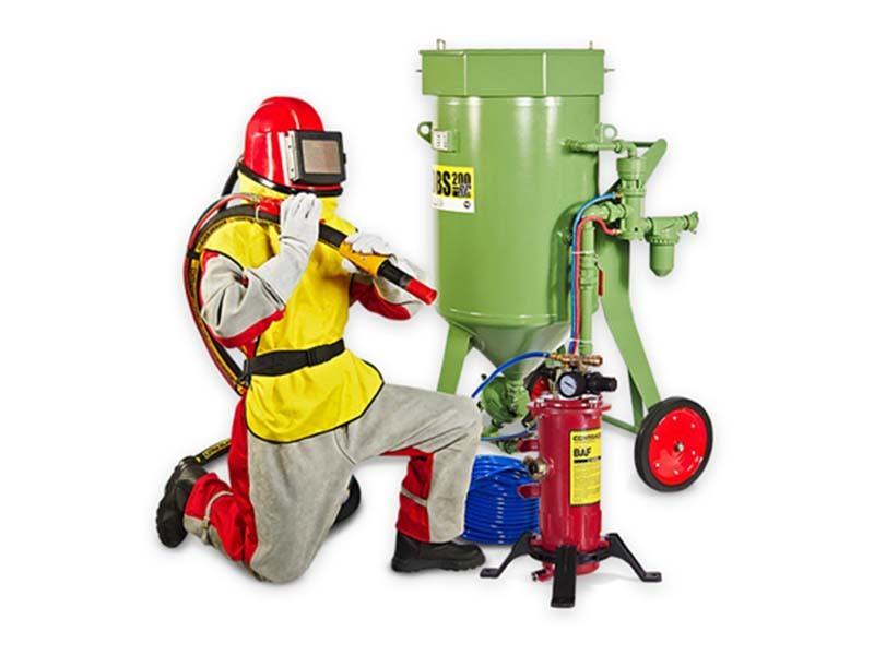 Комплект пескоструйного оборудования Contracor BlastPack-200