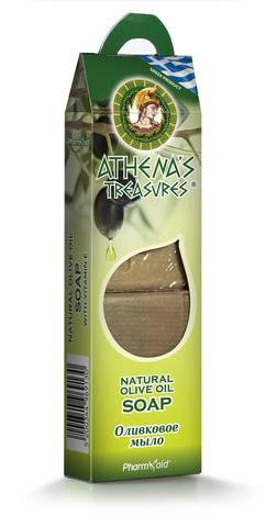 Оливковое мыло в подарочной упаковке Athena's Treasures 2 шт по 100 гр